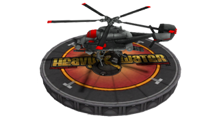 Heavy Strike Surveillance Helicopter